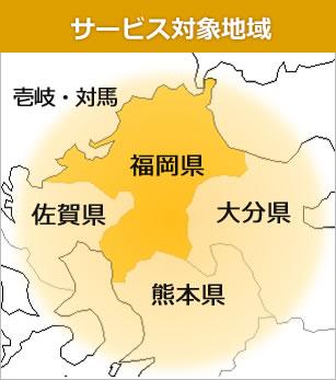 サービス対象地域